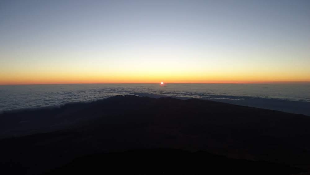 Mount Teide Tenerife - sunrise moment