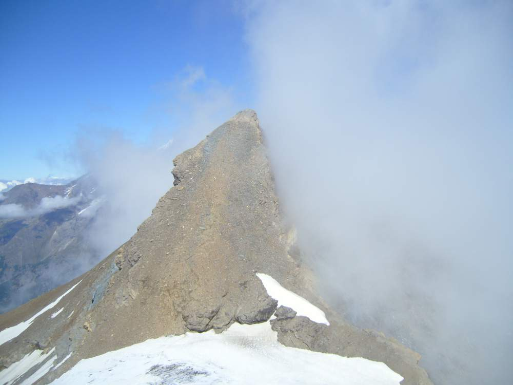 Platthorn and Mettelhorn - Mettelhorn seen from the summit of Platthorn