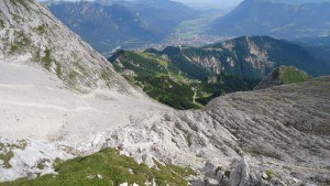 View to Kreuzeck and Gramish Partenkirchen