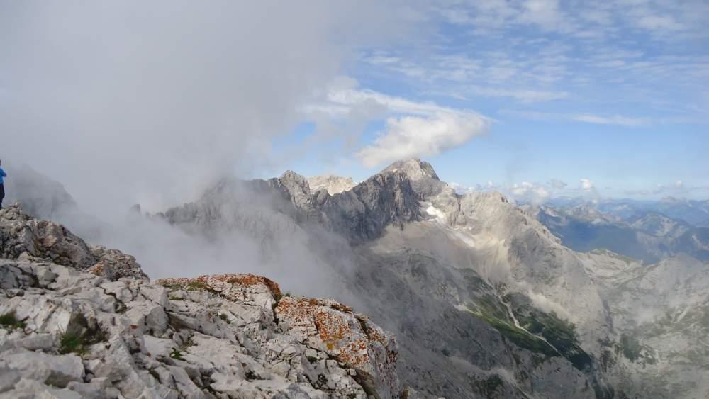 Zugspitze seen from Alpspitze.