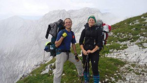 climb Alpspitze - a couple