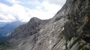 Schongange seen descending toward Osterfelderkopf.