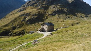 Martin Busch hut, Austrian Alps.