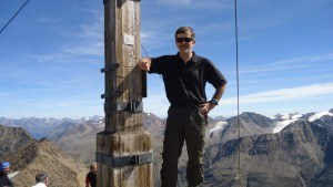 My happy face on the summit.