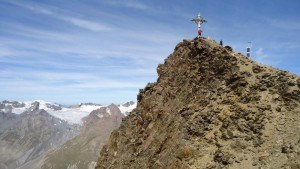Summit of Kreuzspitze.