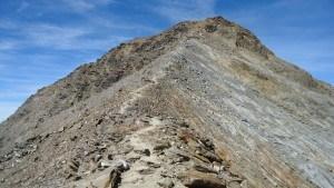 Summit ridge, final part.