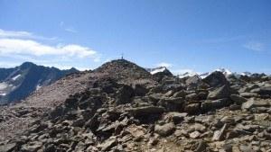 The summit of Schwarzkogel.