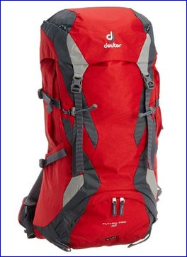 Front view of Deuter Futura PRO 42.