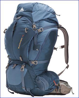 Gregory Baltoro 75 backpack.