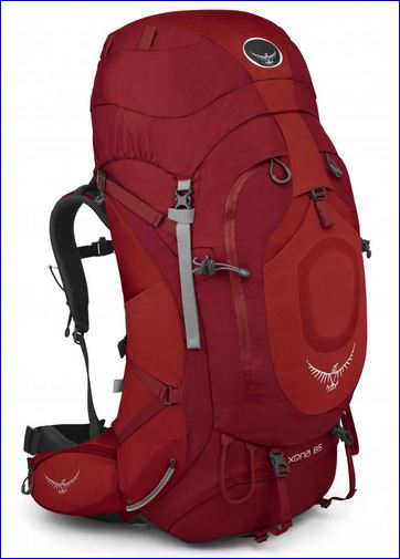 Osprey Xena 85 Backpack for women.