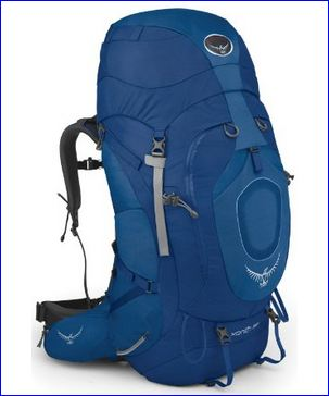 Osprey Xenith 88 backpack.