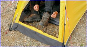 Retractable floor. & Snow Peak Lago 1 Tent - 4 Season Tent - Mountains For Everybody