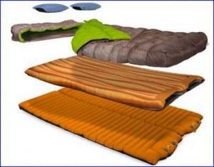 Nemo Mambo Duo sleeping system.