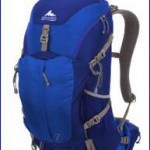 Gregory Z30 backpack, blue version.