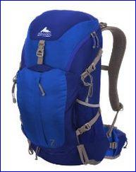 Gregory Z30 backpack, blue version.