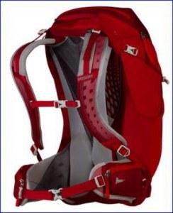 Gregory Z30 Backpack suspension.