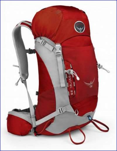Osprey Kestrel 28 rucksack.