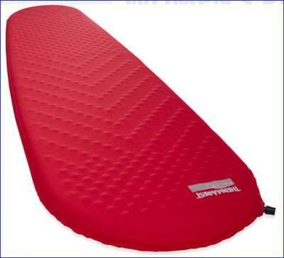 Therm Rest ProLite Plus sleeping pad for women.