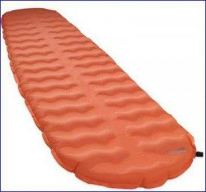 ThermaRest EvoLite sleeping pad.