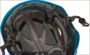 Inside padding of Half Dome helmet.