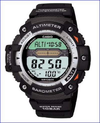 Casio Altimeter watch.