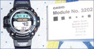 My own Casio watch.