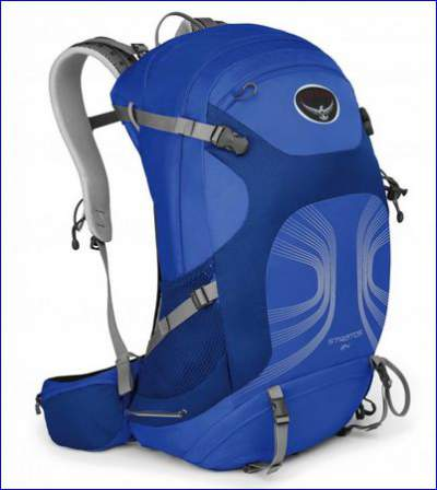 Osprey Stratos 34 pack.
