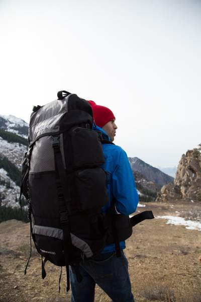Metallic Silver TETON Sports Explorer 4000 Internal Frame Backpack