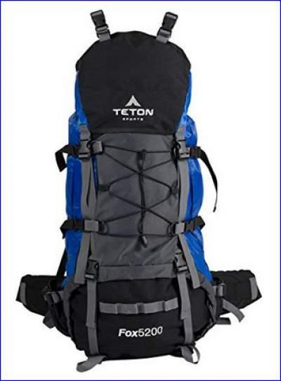 Teton Sports Fox 5200 internal frame backpack.