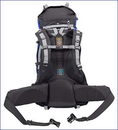 Suspension system on Teton Sports Fox 5200 pack.