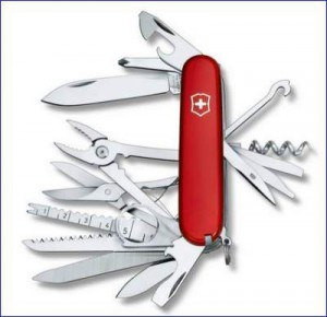Swiss Army knife - one example.