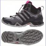 Adidas Terrex Swift R Mid GTX women hiking boots.