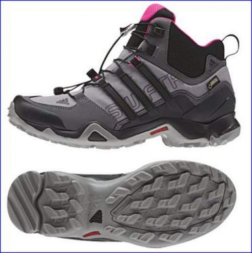 cheaper 5e926 29c25 Adidas Terrex Swift R Mid GTX women hiking boots.