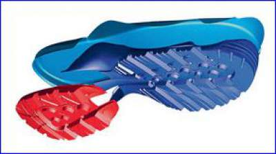 The Fugitive GTX sole structure.