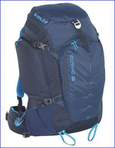 Kelty Redwing 50 pack with on-the-fly harness adjustment system.