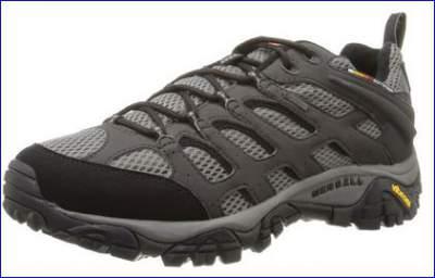 Merrell Moab waterproof shoe.