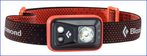New Black Diamond Spot headlamp.