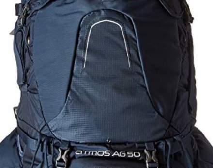 This is the front of the new 2018 Osprey Atmos packs.
