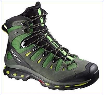 Salomon Quest 4D 2 GTX hiking boots.