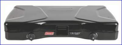 Triton stove in packed state.