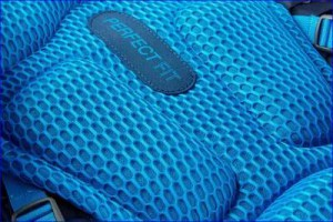 Enormously pleasant padding with mesh.
