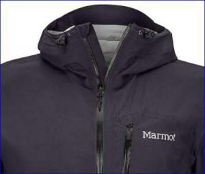 Marmot Essence - collar construction.