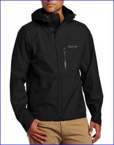 Marmot Minimalist rain jacket for men, one of more than 10 colors.