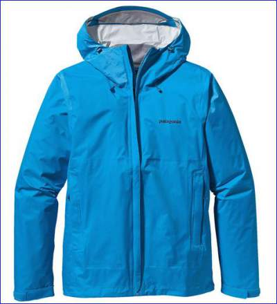 Patagonia Torrentshell in one of 7 colors.