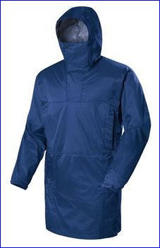 Cagoule in one of the three colors.