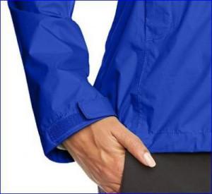 Velcro cuff tab.