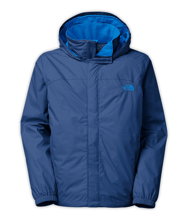 The North Face Resolve jacket in one out of 36 colors.