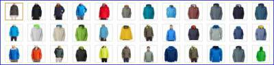 Resolve jacket - variety of colors