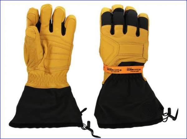 Black Diamond Guide gloves.