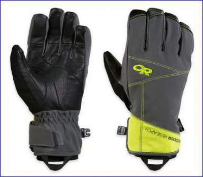 Outdoor Research Illuminator Sensor Gloves.